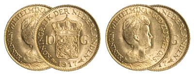 10 florins gulden monnaie or